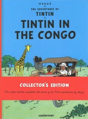 Tintin in the Congo, Hardcover by Herge