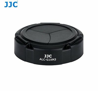 JJC ALC-G1XM3 Auto Lens Cap for Canon Powershot G1X Mark III ABS camera _AU