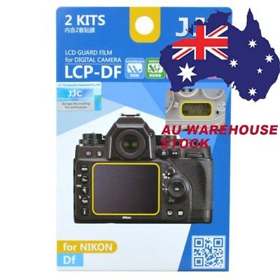 JJC LCP-DF LCD Guard Film Camera Screen Display Protector for NIKON Df DSLR _AU