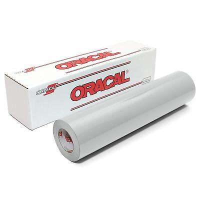 ORACAL 651 Glossy Vinyl Roll 12 Inches by 150 Feet - Light Grey