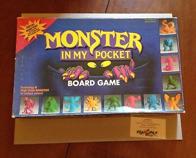 Moster in my pocket board game