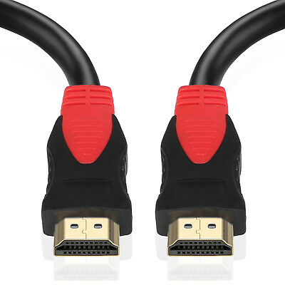 Premium 6FT HDMI 1.4 Cable with Ethernet 24K Gold Plated Ultra Speed (1-10Pack)