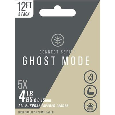 Wychwood Ghost Mode Tapers 3X Fly Lines Clear Full Range Game Fly Fishing