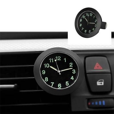 Clock Car Quartz Auto Watch Interior Luminous Decoration Mini Digital Air Vent 1