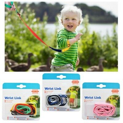 Toddler Baby Safety Harness Leash Kid Anti Lost Wrist Traction Rope Band AU