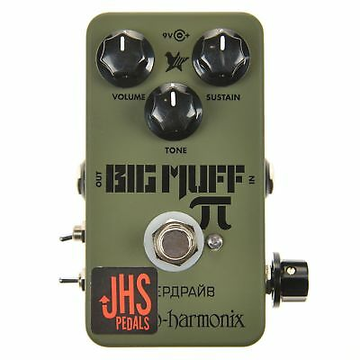 JHS Moscow Mod Electro-Harmonix Green Russian Big Muff Pi reissue