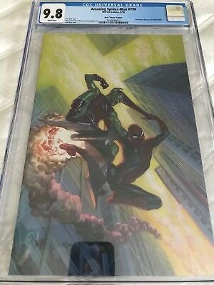 Amazing Spider-Man #798 CGC 9.8 Alex Ross 1:100 Virgin Variant 1st Red Goblin