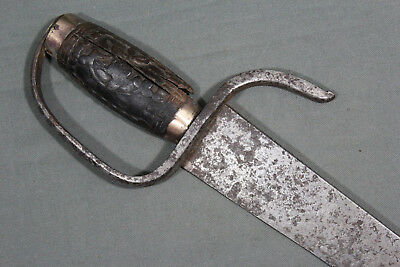 A Chinese hudiedao sabre - Southern China, 19th century