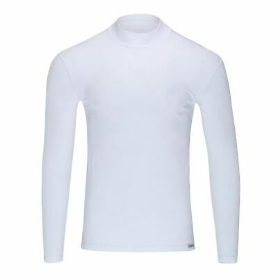 Doreanse Mens 2930 Long Sleeved Under-Shirt Soft Comfortabe Close Fit Round Neck