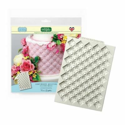 Katy Sue Creative Cake System Silicone Icing Mould - Continuous Quilting