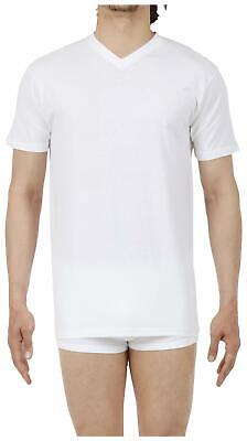 HOM Men's Hilary 100% Cotton V-Neck T-Shirt