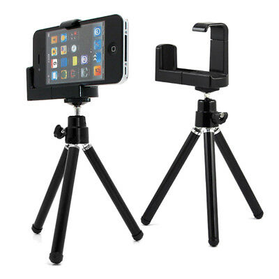 360°Mini Tripod Stand Holder Mount for Camera Mobile Phone iPhone 6 5s Samsung^