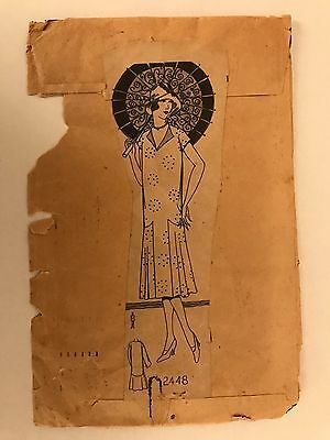 Antique Sewing Pattern- 1920's- #2448