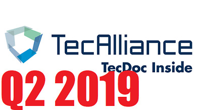 NEW 2019!!!  TecDoc DVD Catalog 1Q.2019 Full Virtual PC