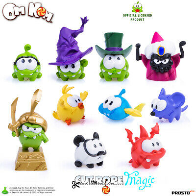 PROSTO Toys Cut the Rope Magic Collection Figure, Set (10 pc.) Cartoon Character