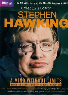 Bbc Focus / History Magazine Collectors Edition 2018 ~ Stephen Hawking ~ New ~