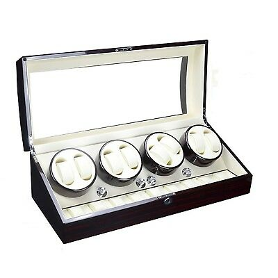 XTELARY Luxury Gift Automatic Rotate Watch Winder 8+9 Leather Storages