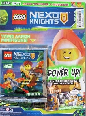 Lego Nexo Knights Issue #25 ~ New Sealed With Lego Gift ~
