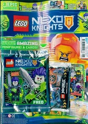 Lego Nexo Knights Issue #26 ~ New With Gifts ~