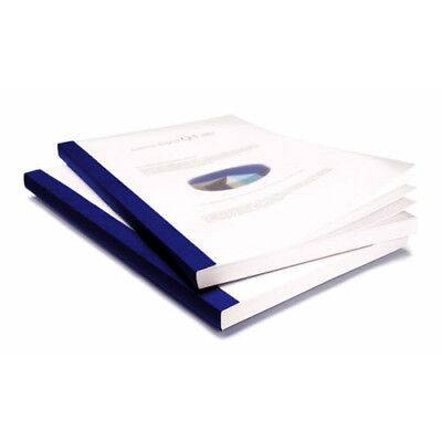 """New Coverbind 3/4"""" Navy Clear Linen Thermal Covers 50pk - 575206 - Free Shipping"""