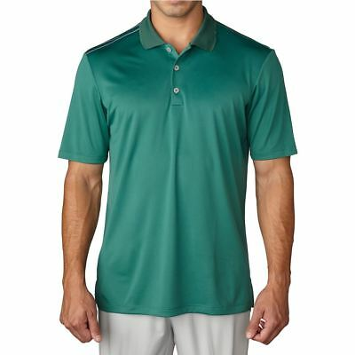 New With Tags Adidas Golf Climacool Polo Shirt, AF0318, Large, Unity Green