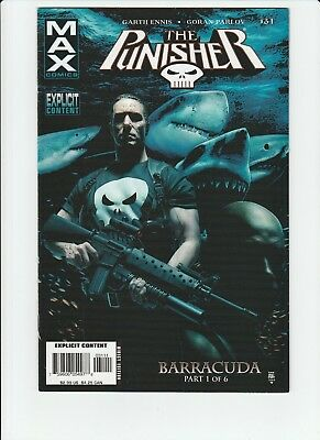 The Punisher #31 1st Appearance Barracuda 2006