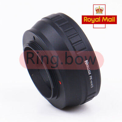 Lens Adapter For Pentax PK Lens to Micro Four Thirds M 4/3 Camera UK-SELLER