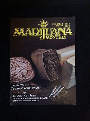 Marijuana Monthly Number 3 1975 How to debug your home  mint cond