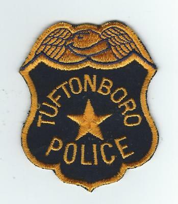 VINTAGE TUFTONBORO, NEW HAMPSHIRE  POLICE  (CHEESE CLOTH BACK) patch