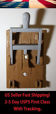 Steampunk Frankenstein Light Switch Cover Plate Flip Handle Toggle White