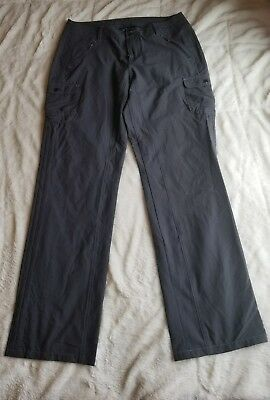 Khul Born In The Mountains Roll Up Womens Gray Pants Sz 10