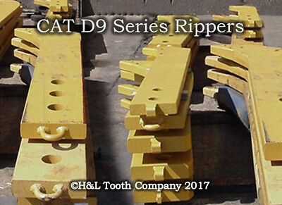 8E5346 Dozer D8 D9 Forged Ripper Shank, Cat R450 Series Teeth by H&L Tooth Co.