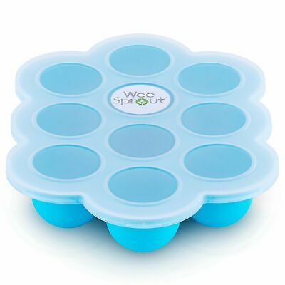 "Weesprout ""nature's Little Cubes"" Silicone Baby Food Freezer & Storage Tray"