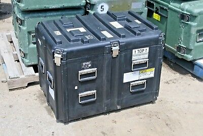 "33.5"" x 23"" x 23"" Pelican Hardigg Military Heavy Duty Hard Plastic Cases"