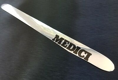 HRC Medici bicycle chainstay protector sticker decal chrome vintage style FRAME