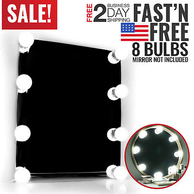 Vanity Mirror Lights Kit Makeup LED Bulb Hollywood Glamour Professional Beauty