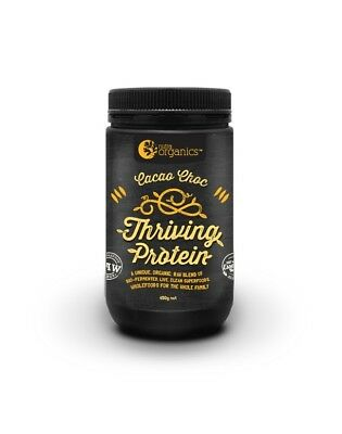 Nutra Organics Thriving Protein 500g  Cacao Choc x 1