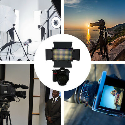 308LED Dimmable Video Light Kit Studio Lighting for Canon Nikon Camera Camcorder