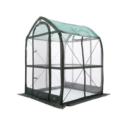 PlantHouse 5 ft x 5 ft Pop-Up Greenhouse floorless PVC cover Home Outdoor Plant