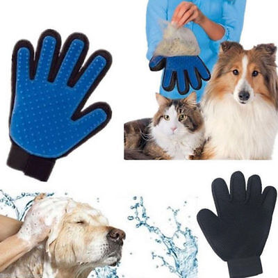 Massage Touch Deshedding Grooming Cleaning Brush Dog Cat Pet Groomer Magic Glove