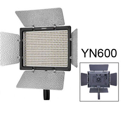 Yongnuo YN600 5500K Pro LED Video Light Camcorder + Remote for Canon Nikon US