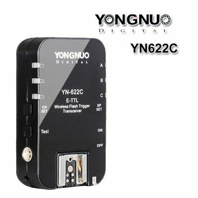 1PCS Yongnuo YN-622C Wireless E-TTL Flash Trigger Transceiver for Canon DSLR US