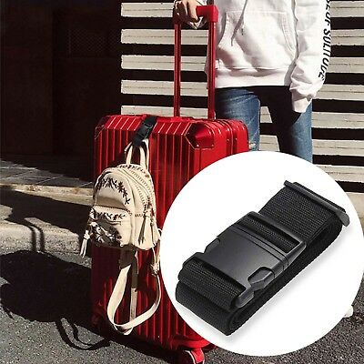 Nylon Cargo Tie Down Luggage Secure Lash Belt Strap Cam Buckle Straps Travel Kit