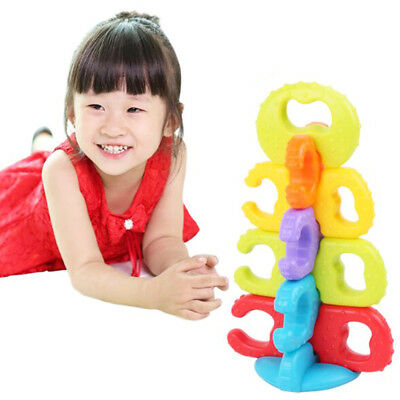 DIY Biting Teether Molars Stacking Baby Toys for Kids Hand Grasping Ball 2019