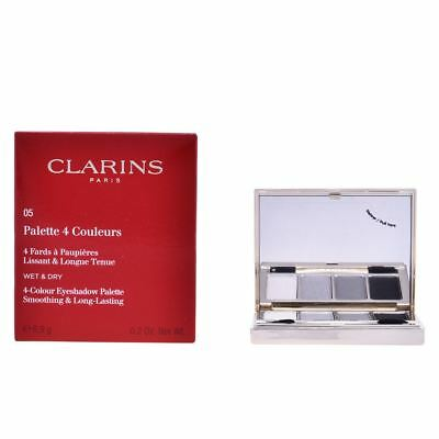 Clarins 4 Colour Eyeshadow Palette (Smoothing & Long Lasting) - #05 Smoky 6.9g
