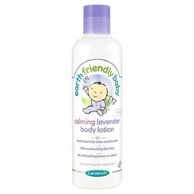 Earth Friendly Baby Calming Lavender Body Lotion (250ml) (Pack of 2)