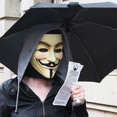... Topeng Anonymous Vendetta Vendeta Hacker Source v for vendetta mask adult mens guy fawkes anonymous occupy
