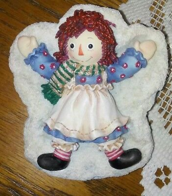 "Enesco Raggedy Ann & Andy Figurine. ""THERE'S NO OTHER ANGEL LIKE YOU"""