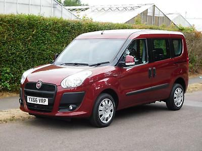 Fiat Doblo 1.4i MyLife (petrol) WHEELCHAIR OR MOBILITY SCOOTER CONVERSION