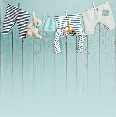 2x2ft Infant Baby Clothes Photography Backgrounds Photo Backdrop Studio HOT